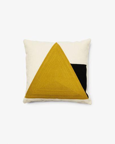 Funda de coixí Sinna 45 x 45 cm groc