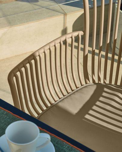 Surpika Outdoor-Stuhl in beige
