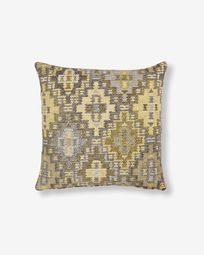 Nazca cushion cover 45 x 45 cm mustard