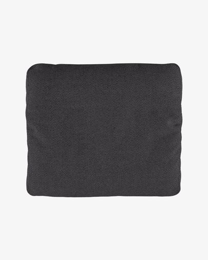 Set of two Noa armrest cushions in grey