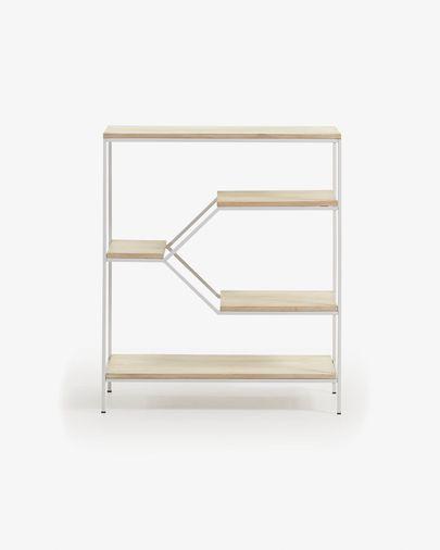 Push shelving unit 80 x 93,5 cm white