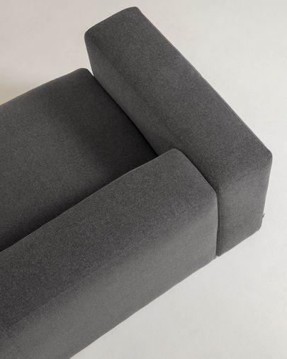 Grey 2 seaters Blok sofa 210 cm