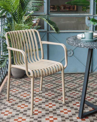 Isabellini garden chair in beige
