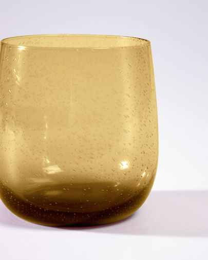 Yellow Dusnela glass