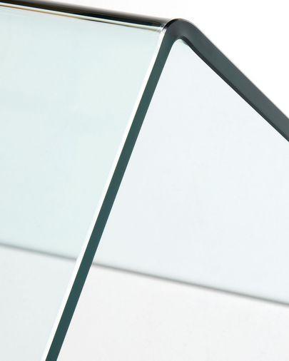 Escritorio Burano de cristal 125 x 70 cm