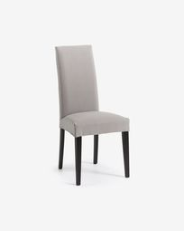 Freda chair Bulova light grey and black