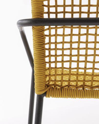 Boomer Stuhl senfgelb