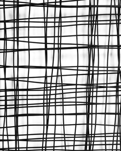Christine metal picture 79 x 79 cm