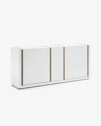 Credenza DE 174 x 79 cm bianco