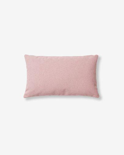 Kam kussensloop 30 x 50 cm roze