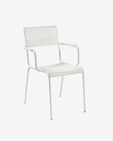 Chaise Advance blanche mat