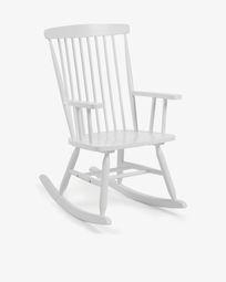 White Tenzo rocking chair