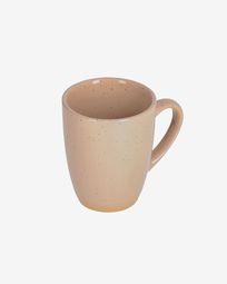 Tilla ceramic cup in beige