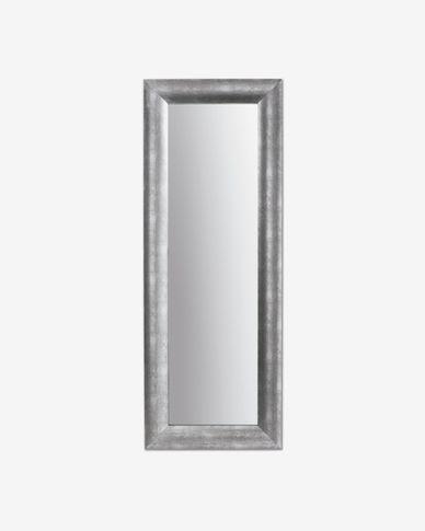 Misty mirror silver 59 x 159 cm