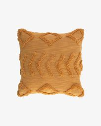 Xayoxhira mustard yellow cushion cover 45 x 45 cm