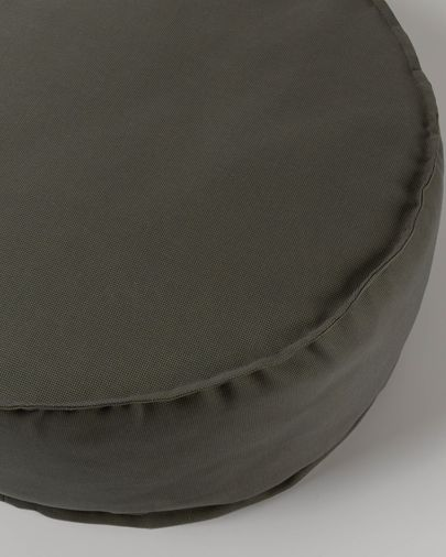Pouf rotondo Nedra Ø 70 cm grigio