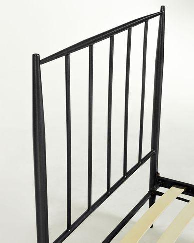 Natacha 90 x 190 cm graphite bed