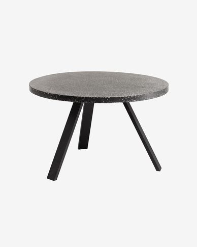 Table Shanelle Ø 120 cm noir
