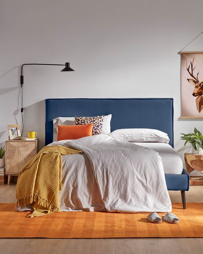 Cama Venla azul 150 x 190 cm