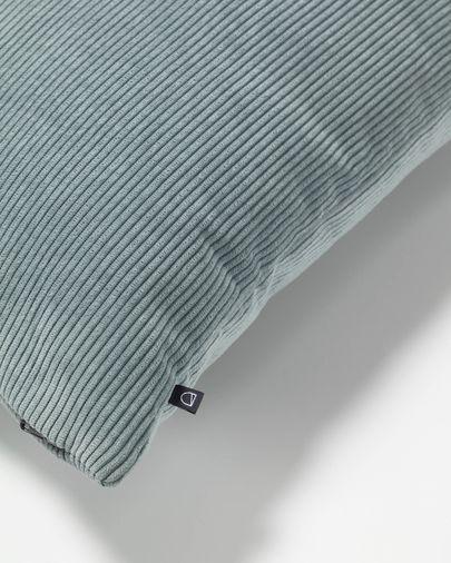 Funda coixí Namie 45 x 45 cm pana turquesa