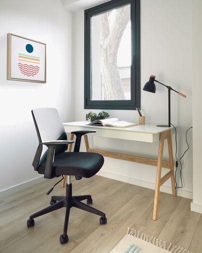 Cadira d'escriptori Nasia negre