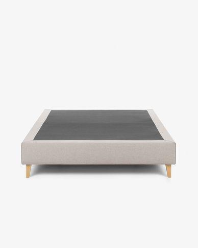 Base letto alta Nikos 180 x 200 cm beige