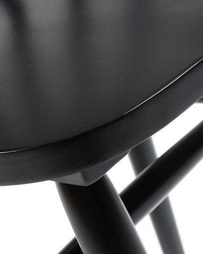 Tressia Stoel zwart