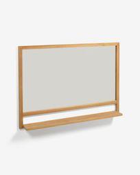 Taciana massief teakhouten spiegel 100 x 70 cm