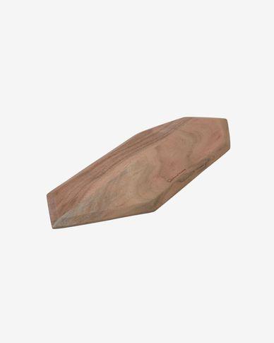 Deska do serwowania Romina podłużna wykonana z litego drewna akacjowego