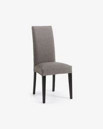 Freda chair grey and black