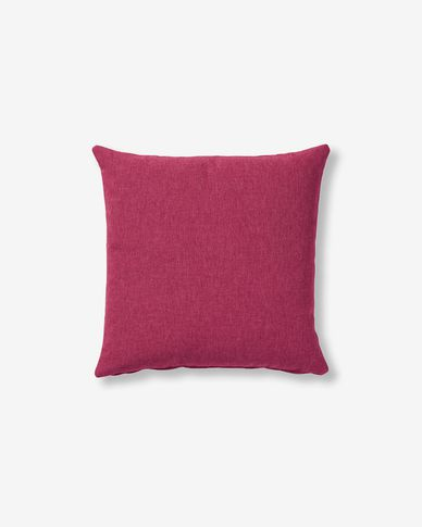 Kam cushion cover 45 x 45 cm maroon