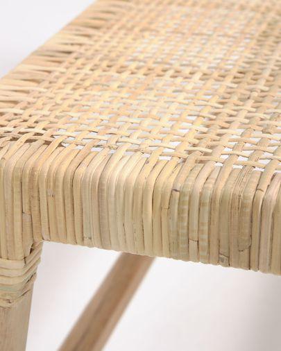 Banco Beida madera maciza teca 120 cm