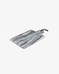 Tagliere rettangolare Bergman marmo grigio