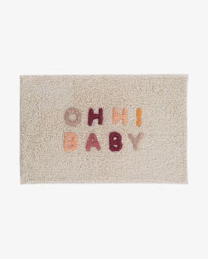 Tapete de casa de banho Nandi 40 x 60 cm ohh baby
