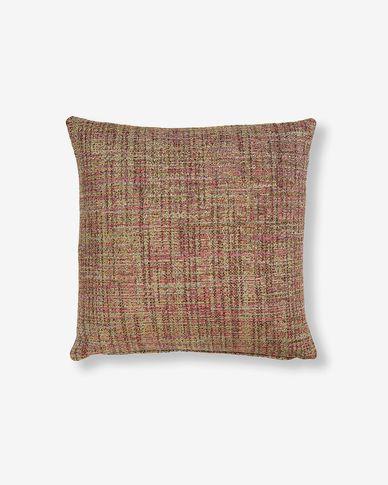 Fodera cuscino Boho 45 x 45 cm rosa
