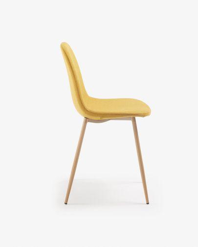 Yaren stoel mosterd