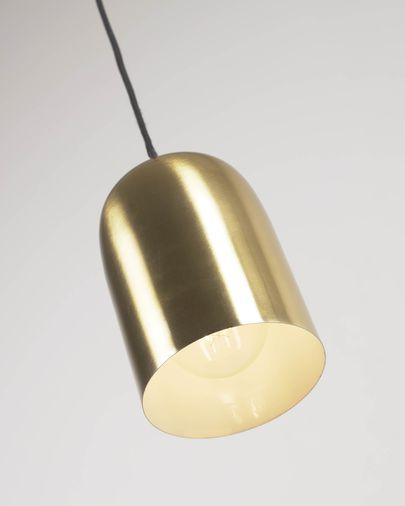 Lámpara de techo Eulogia de metal con acabado latón