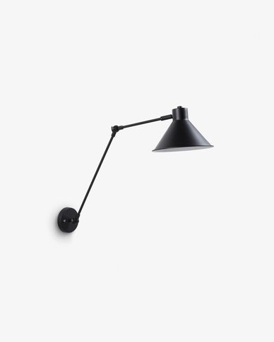 Dione lamp zwart