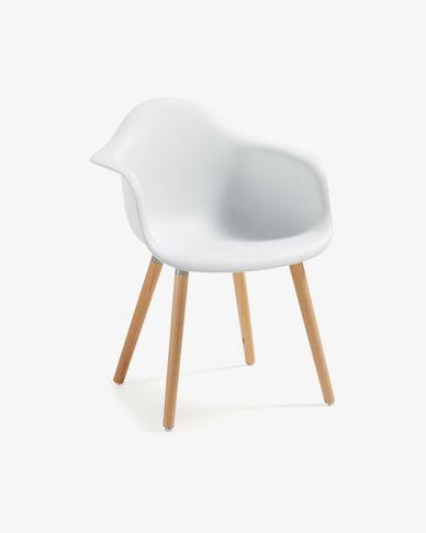 Chaise Kevya blanc