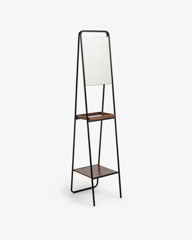 Miroir étagère Benneth 35 x 164 cm