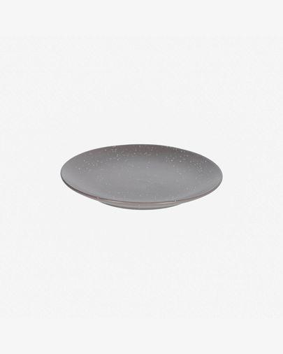 Aratani dark grey dessert plate