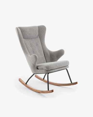Grey Meryl rocking chair