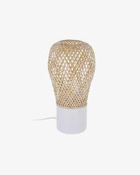 Derora white table lamp