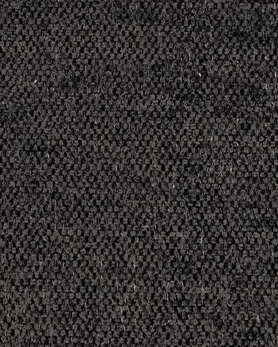 2 persoonsbank Blok met chaise longue links van grijs 240 cm