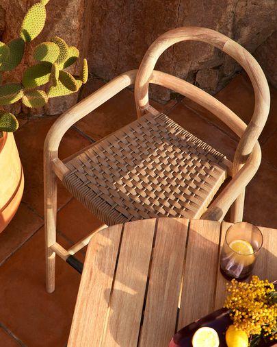 Sgabello Sheryl beige jaspé altezza 79 cm