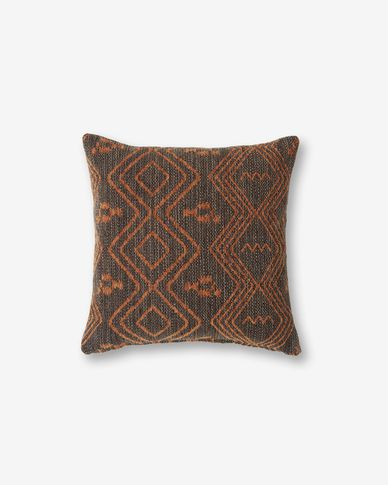 Fodera per cuscino Eland 45 x 45 cm marrone quarzo