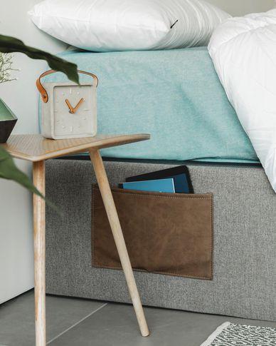 Storage bed base Matters 90 x 190 cm graphite