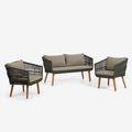 Conjuntos de sofás de jardín