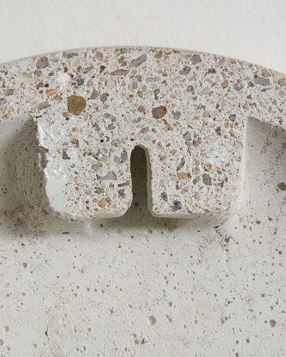Wall clock Alexia Ø 27 cm beige