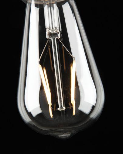 Bombilla LED Bulb E27 de 4W y 65 mm luz cálida